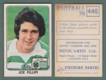 Glasgow Celtic Joe Fillipi 446